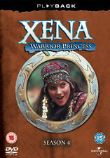 DVD:XENA - WARRIOR PRINCESS - SEASON 4 - NEW Region 2 UK