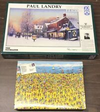 Lot of 2 Puzzles Where's Waldo On The Beach & The Toymaker F.X. Schmid