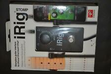 New IK Multimedia iRig Stomp Guitar Pedal For iPhone iPod touch iPad