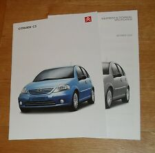 CITROEN C3 Brochure 2002-L LX SX Exclusive - 1.1 1.4 1.6 16 V 1.4 HDI