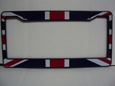 "BRITISH ""UNION JACK CAR LICENSE PLATE HOLDER / FRAME"" PLASTIC NEW"