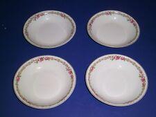 Limoges B & Co. France Bernardaud wright tyndale & van roden 4 Fruit Bowls Roses