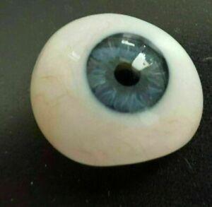 Prosthetic Eye Antique  Human Glass Artificial Blue Color Eye