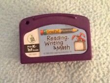 LEAP FROG Reading, Writing, and Math Pre-K - 1st Grade Game Cartridge Leap Pad