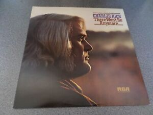 CHARLIE RICH ~ There won't be anymore UK LP 1974 RCA Records