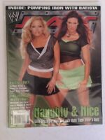WWE Raw Magazine 2004 December Naughty & Nice Trish Stratus and Lita Divas WWF