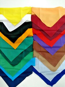 Youth Plain Scout Scarf/Necker. OFFICIAL SUPPLIER.