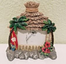 "Tiki Hut Resin Picture Frame for 3"" x 2"" Photo"