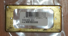 "Reliced Brass Humbucker Ring~3 1/8"" PU Mount-1 5/8 x 3 5/8~0061055000~Brand New"