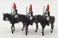 Britains Hand Painted Metal Models 7229 - 3 Mounted Horseguards