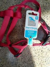 """New listing dog harness, Nwt, by Jump, red, medium step in nylon comfort 17-26"""" girth"""