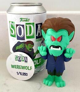 Funko Vinyl Soda Werewolf Common 1/6,250 Scooby-Doo (opened)