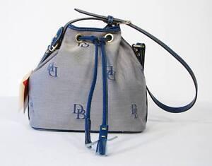 Dooney & Bourke Blue Monogram Shoulder Bag NWT $265