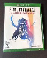 Final Fantasy XII [ The Zodiac Age ] (XBOX ONE) NEW