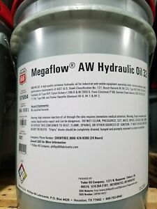 Phillips 66 Megaflow AW 32 Hydraulic Oil; 5 gallon pail; R&O compatible