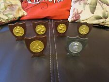 6 COLLECTABLE WARNER BROS LOONEY TUNES TUNE SQUAD TROPHIES FROM SPACE JAM 1996