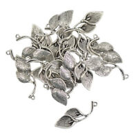 20Pcs Tibetan Silver Lily Calla Flower Charms Pendants Jewelry Making Craft