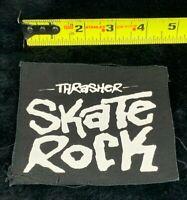 Thrasher Magazine Skate Rock Punk Patch Skate Stickers SP22
