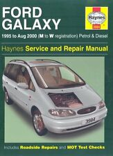 Ford Galaxy Petrol and Diesel Service and Repair Manual: 1995 to 2000 (Haynes S
