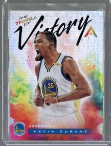 2017-18 Panini Ascenscion The Thrill of Victory Kevin Durant #TOV2