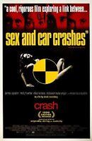 Crash (1997) Single Sided Original Movie Poster 27x40