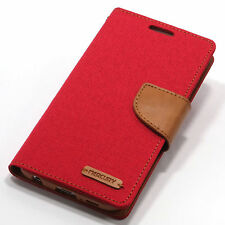 Universal Red Mobile Phone Wallet Cases