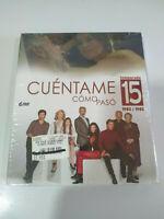 Cuentame Como Paso Temporada 15 Completa - 6 x DVD Nueva - 3T