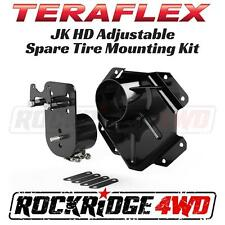 TeraFlex Jeep Wrangler JK Alpha HD Adjustable Spare Tire Mounting Kit 07-17