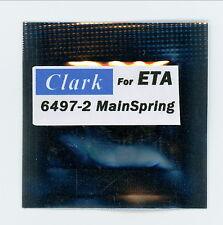 """ETA 6497-2  Main Spring  """"CLARK"""""""