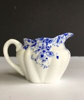 Shelley Fine Bone China England ~ Dainty Blue Individual Creamer ~ 4 oz.