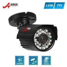 Anran 1200TVL HD CCTV Home Security Camera Wide Angle CMOS IR Surveillance IP66