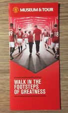 Manchester United Museum & Tour Promotional Flyer - Old Trafford