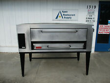A Beauty Marsal Sd 1060 Gas Deck Type Pizza Bake Oven New Stones 5996
