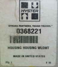 NEW Old Stock 0368221 Hyster Housing Weldement 368221 OEM