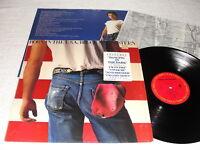 "Bruce Springsteen ""Born In The USA"" 1984 Rock LP, Nice EX!, +Insert, Shrink+Hype"