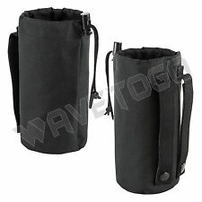 VISM NcSTAR Militray MOLLE Water Bottle Hydration Pouch Bag Carrier Hiking Black