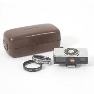 Vintage KODAK RETINA Close-up rangefinder and lenses in case