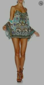 Camilla Franks Meet Me in  Casablanca Drop Playsuit Size XS Small $4 EXPRESS