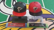 NFL Mad Lids Series 1 & 2 Atlanta Falcons 2-pack (2 mini caps/stands/stickers)