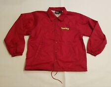 Pokemon 10th Anniversary Red Staff Coat Jacket Event Men XL Pikachu Snap NFRS