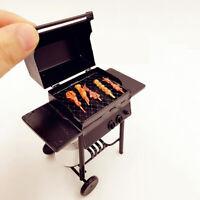 1:12 Puppenhaus Miniature Barbecue Modell BBQ Grill W/ Propane Tank Draussen