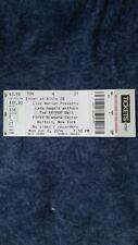Lady Gaga unused concert ticket collectible item.