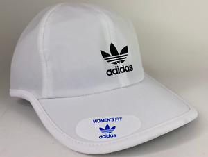 Adidas Womens Originals Trainer II Strapback Hat Cap White C118 140812C New