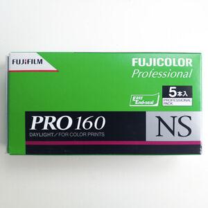 5 Rolls FUJI Pro 160NS 120 Color Print Professional film