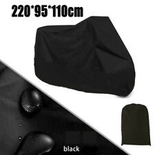 L Waterproof Black Motorcycle Cover For Suzuki GS GSXR GSX-R 600 750 1000 110