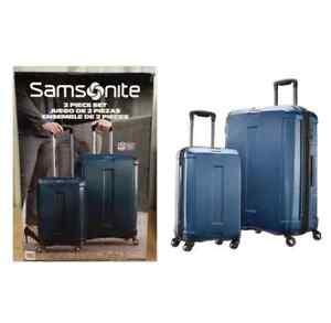 Samsonite Carbon Elite 2-piece Hardside Spinner Set W/USB Port