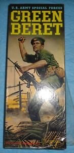 A Vintage 1966 Aurora # 413-98 413 US Army Special Forces Green Beret Model Kit