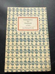 Insel-Bücherei 565 Grünewalds Handzeichnungen 24 Bildtafeln 1930er