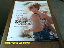 Erin Brockovich (julia roberts) Movie Poster A2