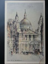 Old Tucks PC, London: ST. PAULS' CATHEDRAL 'Colour Crayon Series'